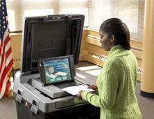 Выборы в США: от  рычажков  до электроники