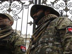 Правый сектор  создает блок-пост при въезде в Киев